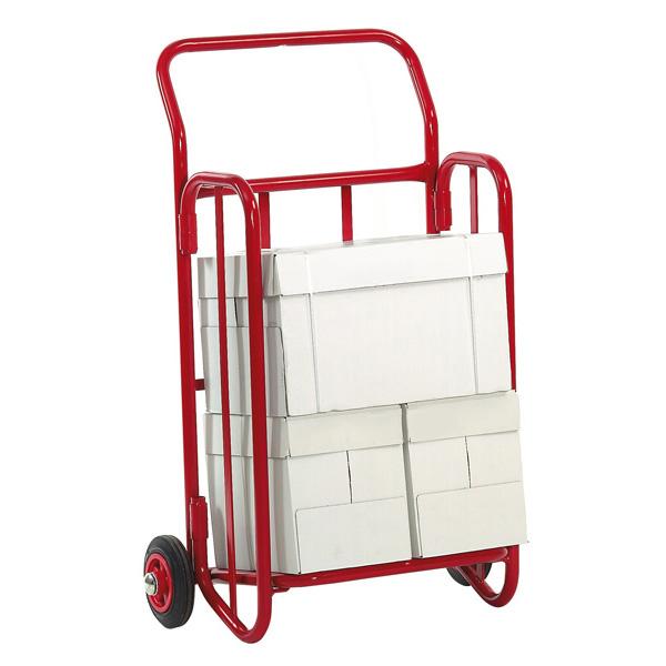 diable pour le transport et la distribution de journaux. Black Bedroom Furniture Sets. Home Design Ideas