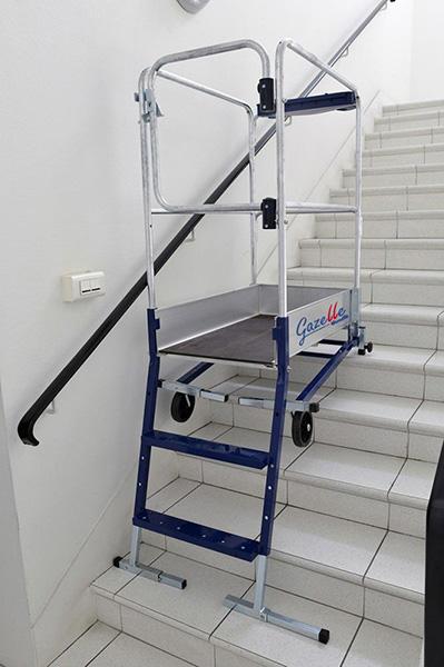 escabeau pour escalier gazelle. Black Bedroom Furniture Sets. Home Design Ideas