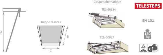 trappe avec escalier escamotable. Black Bedroom Furniture Sets. Home Design Ideas