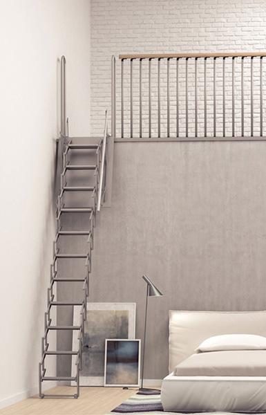 Top Etonnant Escalier Escamotable Mezzanine #9: Escalier Escamotable  JV02