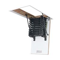 escalier accordéon plié