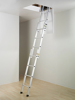 escalier escamotable coulissant