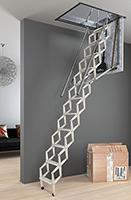 Escalier Escamotable Droit Colimacon Tournant Bois En Vente Sur Escalier Direct