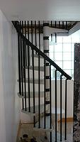 escalier helicoidal métal