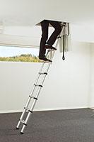 monter un escalier escamotable de meunier