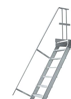 rampe d'escalier industriel