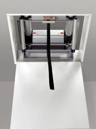 Escalier pliable telesteps de grenier ou escalier pliable mobile - Escalier escamotable de grenier leroy merlin ...