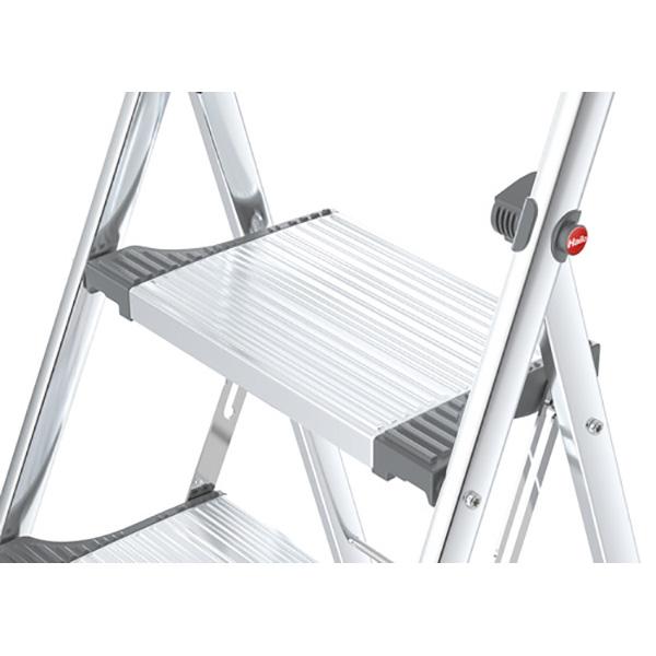 marchepied pliant aluminium avec garde corps. Black Bedroom Furniture Sets. Home Design Ideas