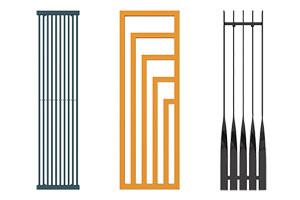 radiateur vertical design