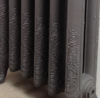 Radiateur fonte decoratif 2 colonnes for Tablette au dessus d un radiateur
