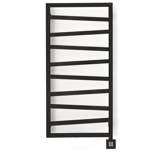 s che serviette design lectrique de couleur noir mat. Black Bedroom Furniture Sets. Home Design Ideas