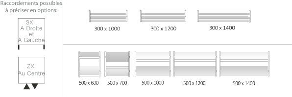 dimension seche serviette finest sche serviette lectrique en aluminium w with dimension seche. Black Bedroom Furniture Sets. Home Design Ideas