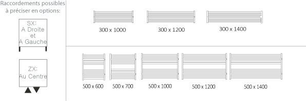schema du seche serviette horizontal - Seche Serviette Orizontale Argeant