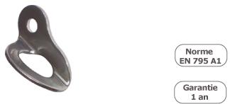 schema du point d'ancrage metallique