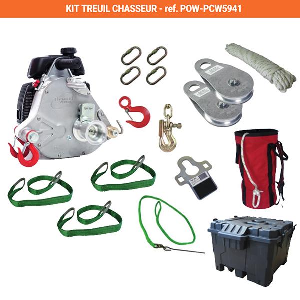 kit de tirage chasse