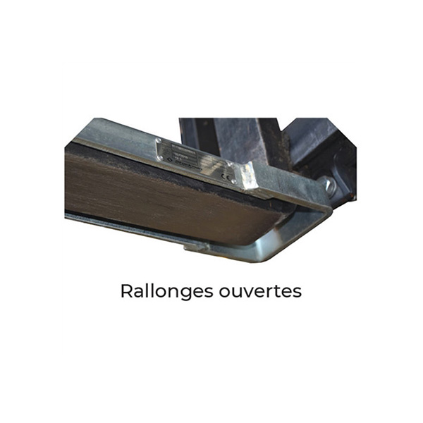 rallonge fourche etrier securite