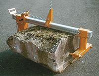 pince levage bloc pierre