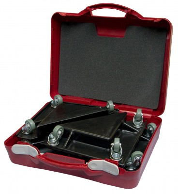 valise coins roulants