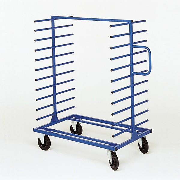 chariot cantilever double face 2 montants 400kg