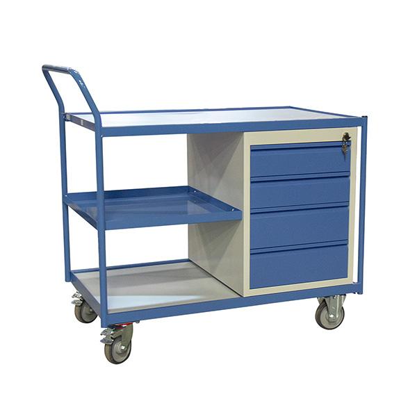 chariot etabli avec tiroirs