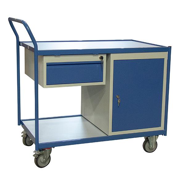 chariot etabli porte tiroirs