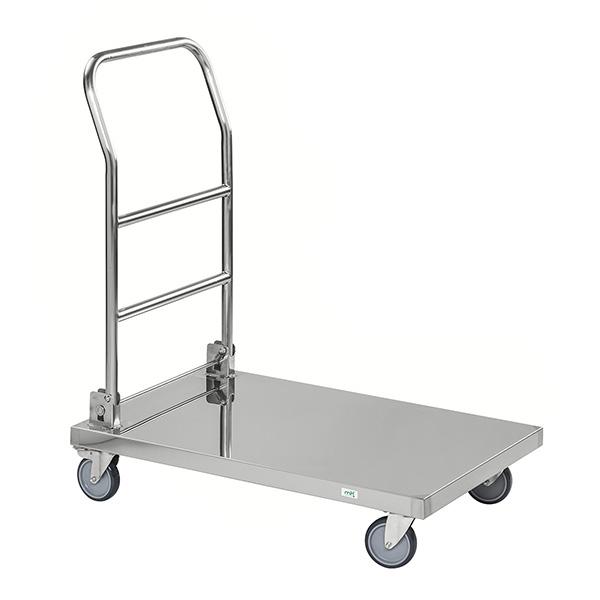 chariot inox pliable