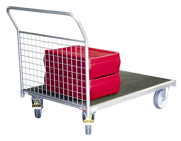 chariot modulable grillage 1 cote charge max 500 kg