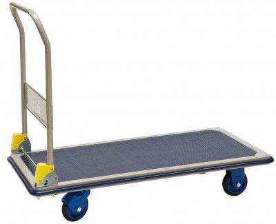 chariot pliable 300kg grand plateau