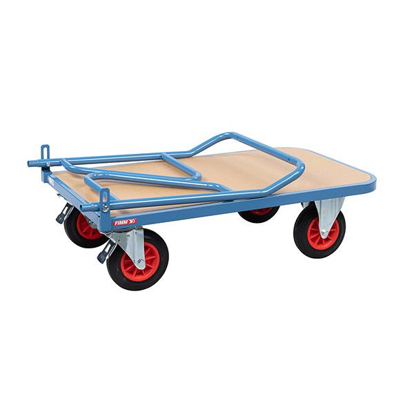 chariot pliable bois 400kg ferme