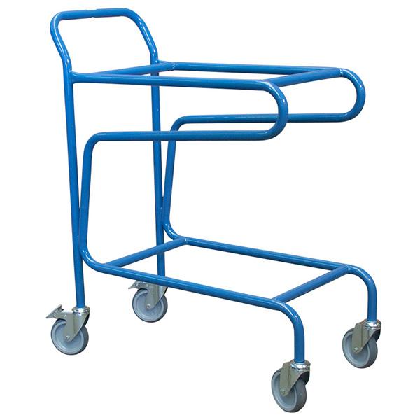 chariot porte bac couvercle