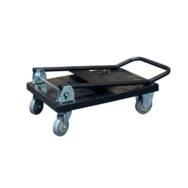 chariot rabattable panneau polypropylene ferme