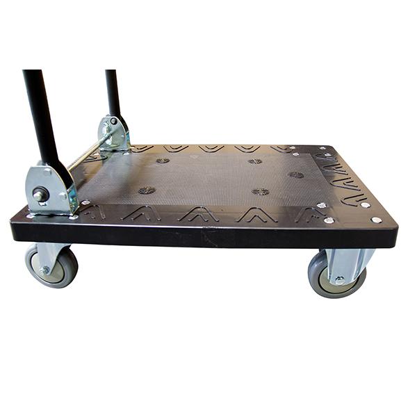 chariot rabattable panneau polypropylene zoom