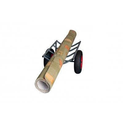 chariot pour rouleaux de tissus ou moquettes