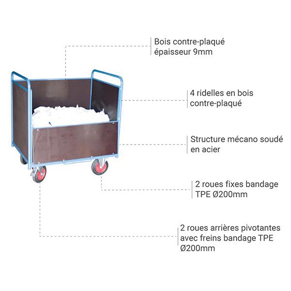 details chariot 800006463