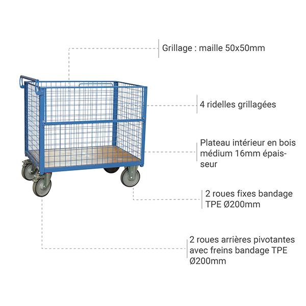 details chariot 800006467