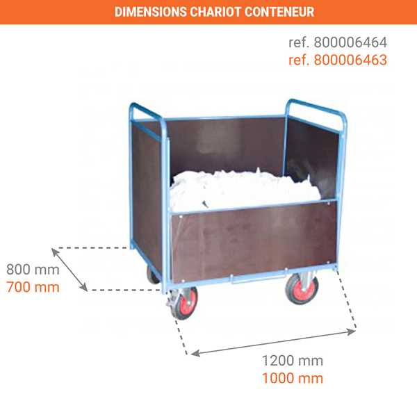 dimensions chariot 800006463