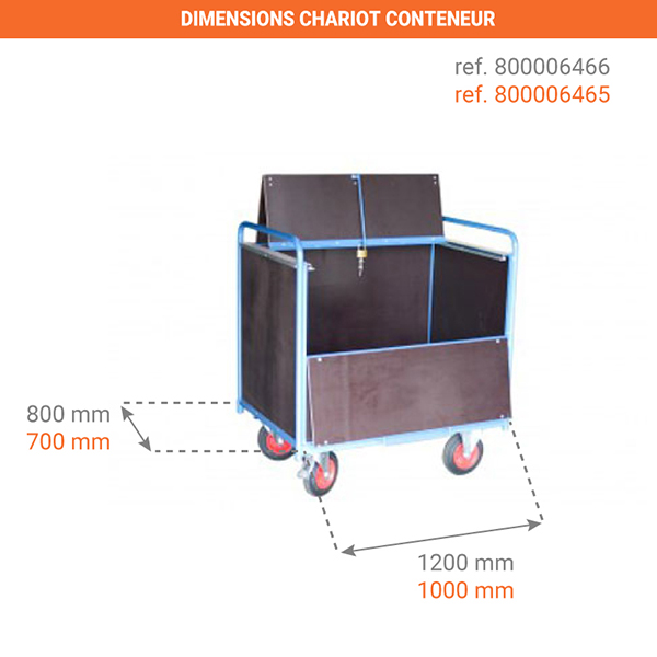 dimensions chariot 800006466