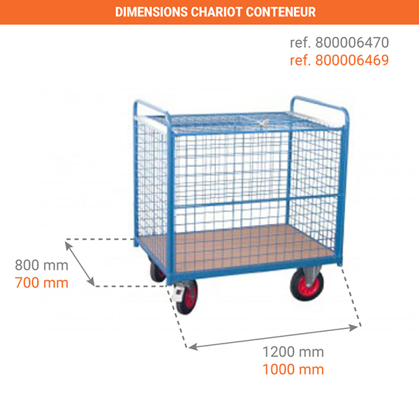 dimensions chariot 800006469
