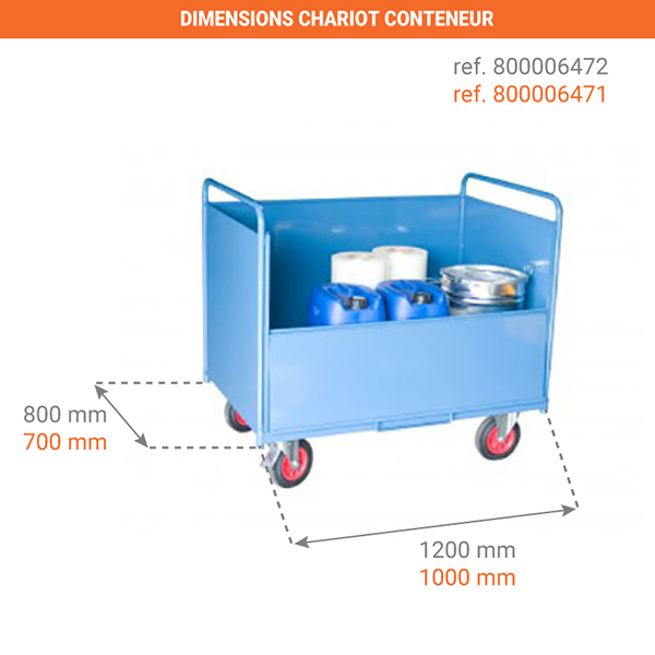 dimensions chariot 800006471