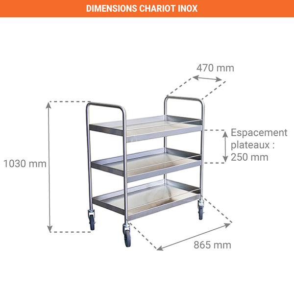 dimensions chariot 880000634