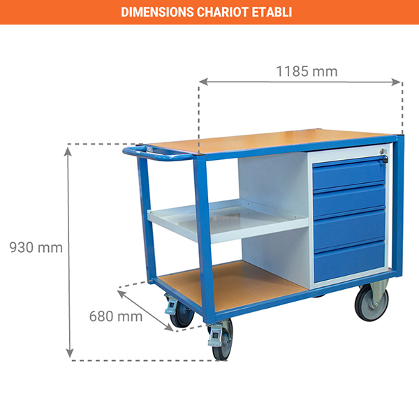 dimensions chariot 880002988
