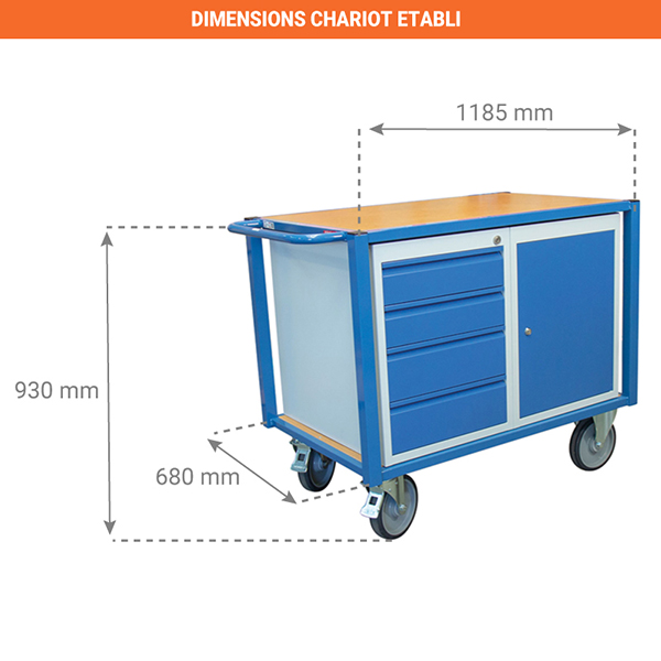 dimensions chariot 880002991