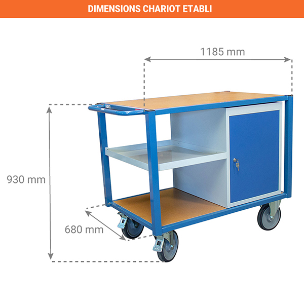 dimensions chariot 880002992