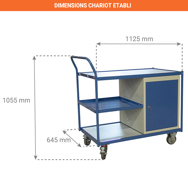 dimensions chariot 880006044