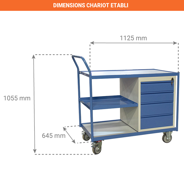 dimensions chariot 880006045