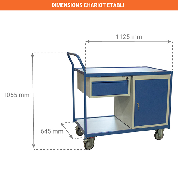 dimensions chariot 880006048