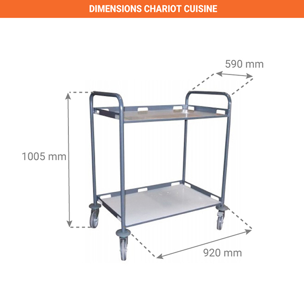 dimensions chariot 880008989