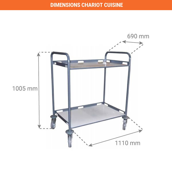 dimensions chariot 880008991