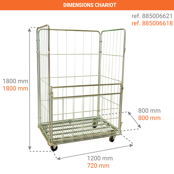 dimensions chariot 885006618