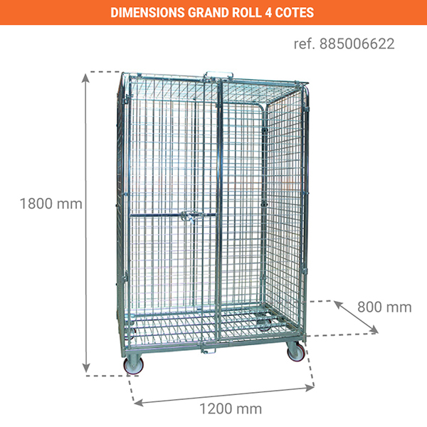 dimensions chariot 885006622